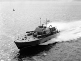 """HMS 'Brave Borderer', 1950s."""
