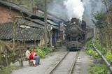 Huangcunjin, Baishi Railway, Sichuan province, China, 2003