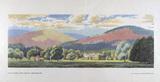 BR (British Railway). Carriage Print.