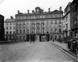 South Front of th Euston Hotel. England, 1884.
