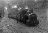 Welshpool and Llanfair Railway, locomotive no. 822. Cyfronydd Heniarth, England.