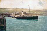 s 'Dover' leaving Admiralty Pier, Dover, Kent, c 1899-1911.