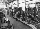 Manufacturing Triumph motor cars at the Triumph Works