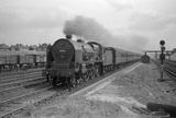 London Midland Scotland (LMS) class 5XP 4-6-0 BR no.45546 'Fleetwood' at Kenton.