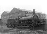South Eastern Railway  (SER) Cudworth 0-6-0 locomotive no.168.