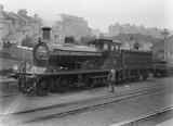 South Eastern and Chatham Railway (SECR) 4-4-0. Locomotive no. 680 class G. AJC_161.