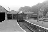 Ventnor Station, 23 Ventnor-Ryde train. October 1949.