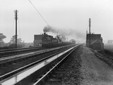 Ballast train at Loughborough, 26th July 1911. Derby, DY_9541.