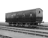 Ballast brake van  M 564 14th July 1921. Derby, DY_11964.