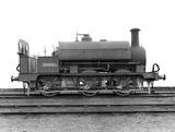 Midland Railway (MR) Saddle tank engine 0-6-0ST 1098A. (Derby, DY_6226)
