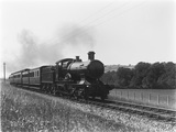 GWR Bulldog class locomotive at Ackland Wood.
