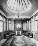 Royal waiting room at Windsor station, 1900. (BTC_8025).