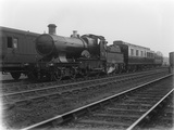 Locomotive 5309, light engine near Barnstaple Junction Station c1926.