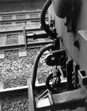 Close of a slip coach 'works', c.1958.