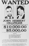 John Dillinger, American bank robber and murderer, March 1934.