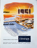 Advertisement for Costain civil engineers in association with the Festival of Britain, 1951