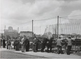 Construction spectators, Festival of Britain,  Aug 1949