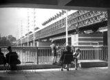 Festival of Britain, view of Bailey Bridge, September 1951