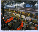 Euston Station - Loading the Travelling Post Office