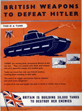 British Weapons to Defeat Hitler - Tanks