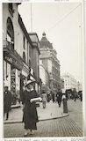 A woman shopping in Regents Street, London.