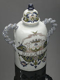 Pharmacy storage jar used for Theriaca, France, c.1775.