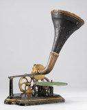 Berliner gramophone, 1890.