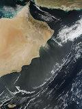 Dust Off the Coast of Oman