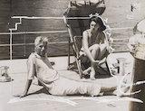 Just taking things easy - Charlie Chaplin, 18 September 1933