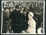 Princess Margaret arriving for AGM of NSPCC