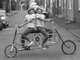Two way bike (B/Wt) - 1986