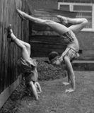 Keeping fit with mum - 1962
