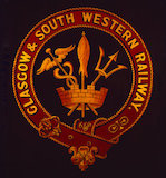 Crest, Glasgow & South Western Railway, 1850
