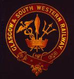 Crest, Glasgow & South Western Railway, 1850