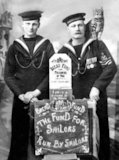 Sailors Who Collected for the Prisoner of War Bread Fund - 1917