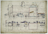 General arrangement drawing of Hull & Barnsley Railway '0-6-0' locomotive<br/>.38338_6438