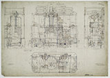 General arrangement drawing of Manchester, Bury, Rochdale & Oldham Steam Tramway '0-4-0' tram locomotive.39790_6736