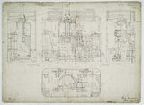 General arrangement drawing of Manchester, Bury, Rochdale & Oldham Steam Tramway '0-4-0' tram locomotive.39794_6737