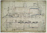 General arrangement drawing of Costa Rica Railway '2-6-0' locomotive.40810_6843