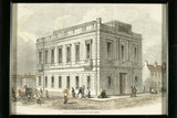 Exterior of free library, 1857.