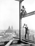 At work on London's skyscraper - October-1928