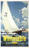'Whitstable', BR (SR) poster, 1959.