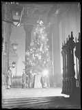 A Christmas tree for poor children, St Martin in the Fields, London', 1933