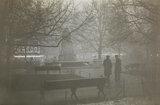 Fog scene in London
