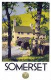 'Somerset', GWR poster, 1939.
