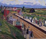 Letchworth Station, Hertfordshire, 1912.