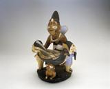 Yoruba ritual bowl, Nigeria, c 1880-1920.