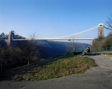 Clifton Suspension Bridge, Bristol, late 20th century.
