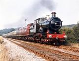 'City of Truro' 4-4-0 steam locomotive, No 3440, 1903.