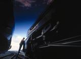 'Sir Nigel Gresley', LNER clas A4 4-6-2 st
